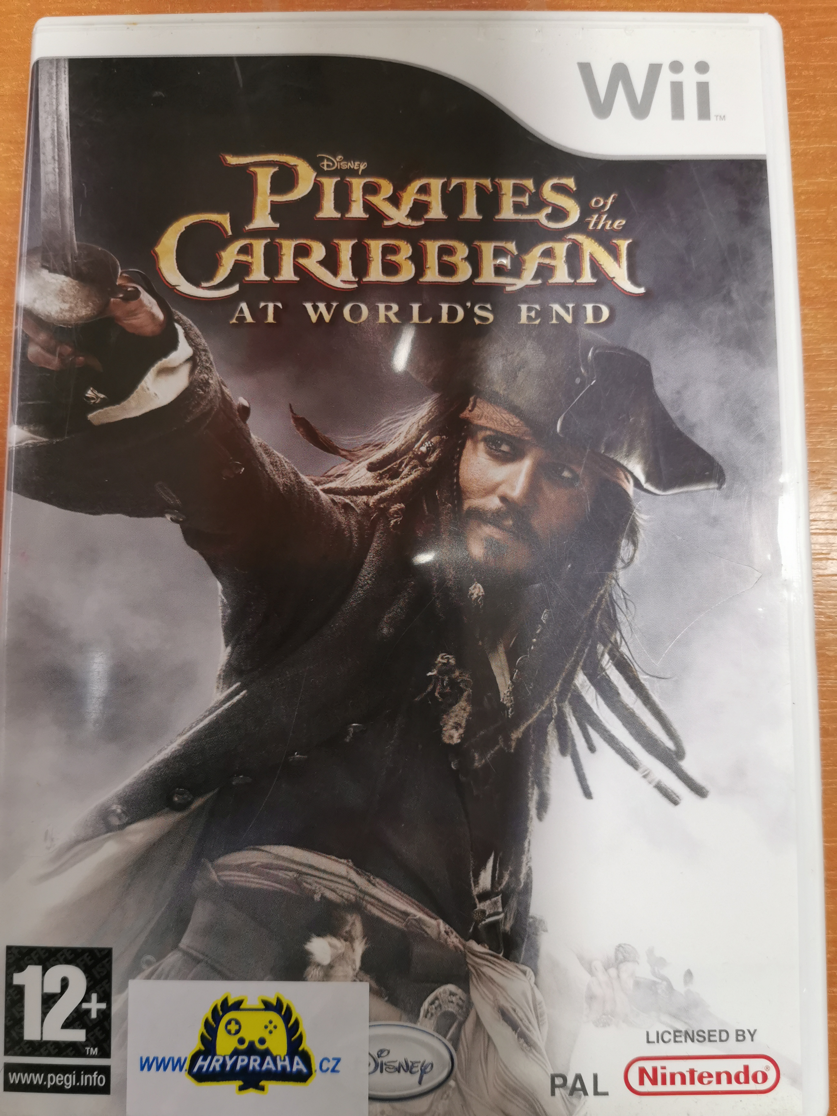 Pirates of the caribbean Nintendo wii