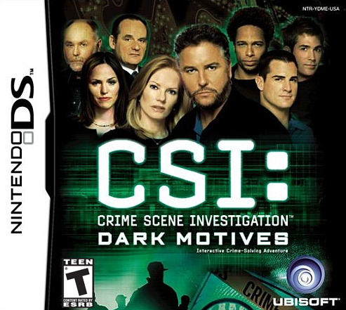 Hrypraha - CSI: Crime Scene Investigation - Dark Motives (DS)
