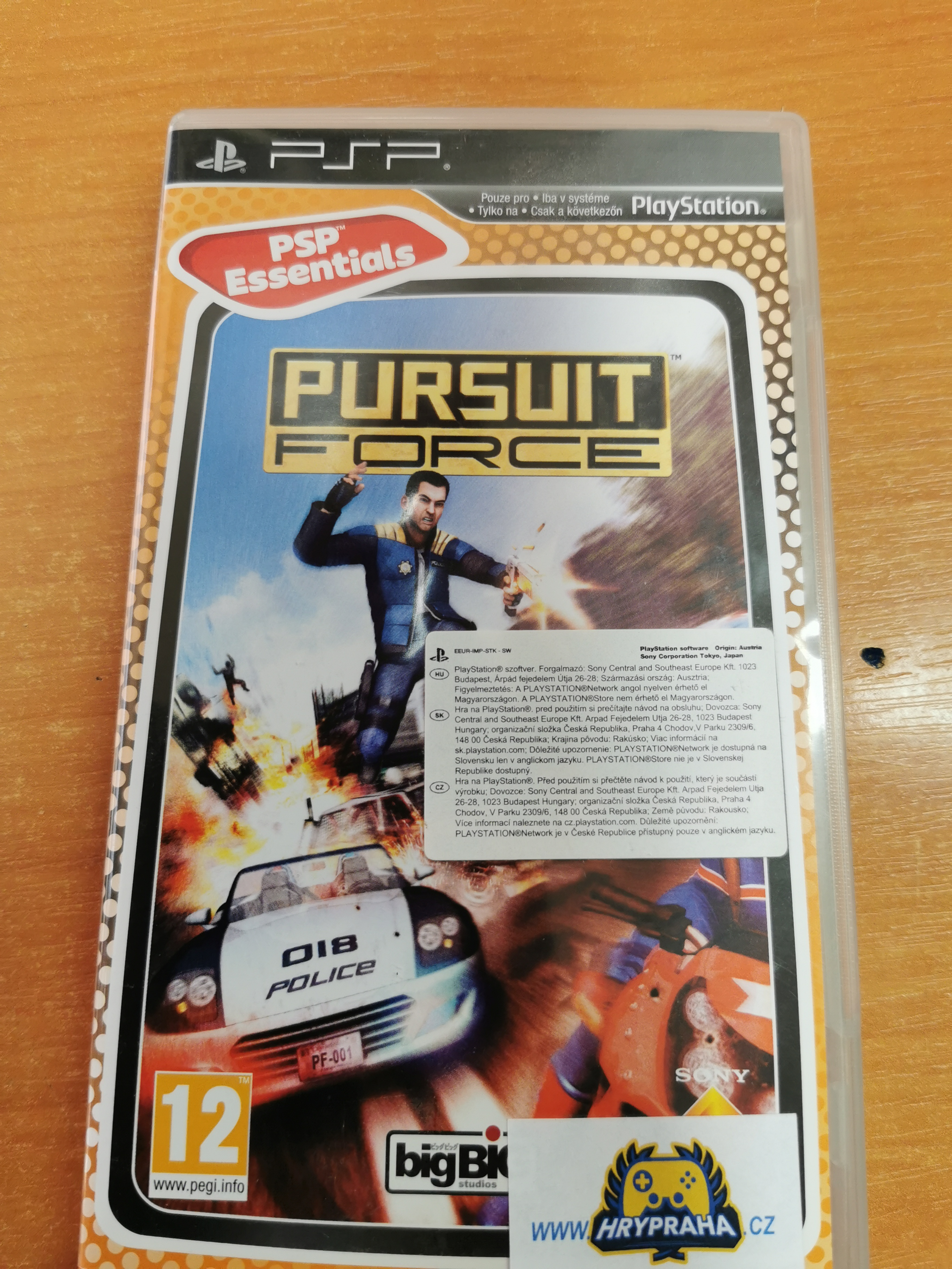 Pursuit force PSP