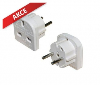 PRIME 3 Pin Continental Europe Travel Adaptor
