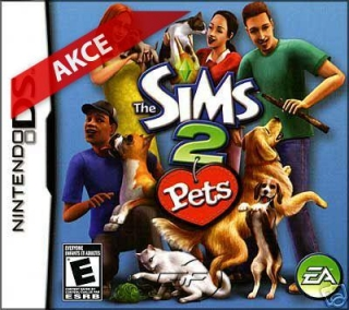 Nintendo DS Game - The Sims 2- Pets
