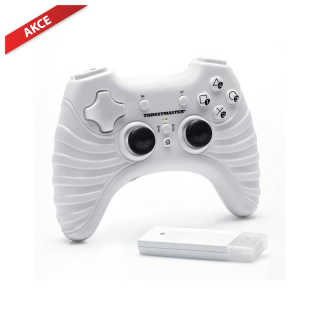 Hrypraha - Gamepad thrustmaster t-wireless white (PC/PS3)
