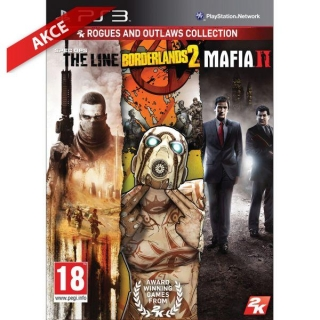 Spec Ops: The Line + Borderlands 2 + Mafia 2 (Rogues and Outlaws Collection) Ps3