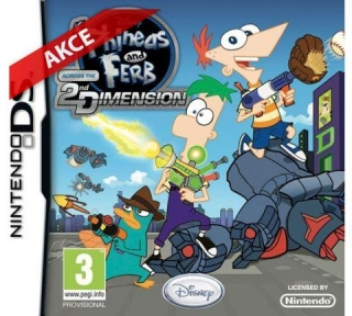 Phineas and Ferb Across the 2nd Dimension (DS)