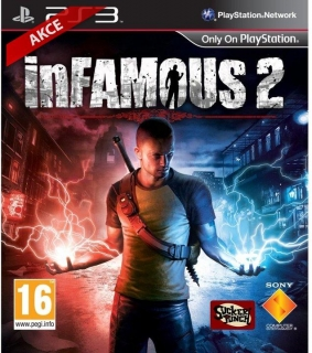 Infamous 2 hra na PlayStation 3
