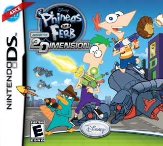 Hrypraha - Phineas and Ferb: Across the 2nd Dimension (NDS)
