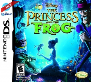 Hrypraha - The Princess and the Frog - Nintendo DS