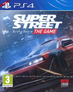Hrypraha - Super Street: The Game (PS4)