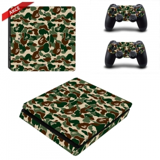 polep Ps4 Pro camouflage