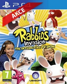 Hrypraha - Rabbids Invasion: The Interactive TV Show (PS4)