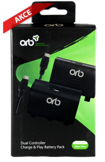 ORB Dual Controller Charge &  Play Battery Pack (XONE),