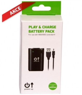 XBOX 360 Play & Charge battery pack with 3m cable