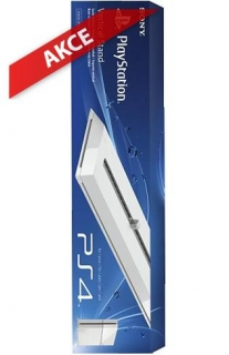 Hrypraha - Sony PS4 Vertical Stand White