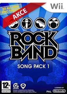Hrypraha - Rock Band Song PacK 1 wii