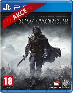 Hrypraha - Shadow Of Mordor PS4)
