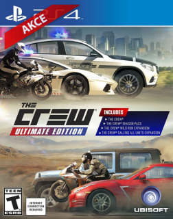Hrypraha - The Crew Ultimate Edition Ps4