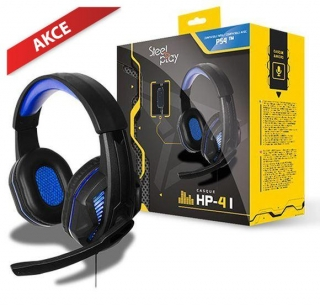 Hrypraha - Steelplay Wired Headset - HP41 Noir (PC/PS4/Switch/XONE)