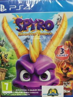 Hrypraha - Spyro Reignited Trilogy  Ps4