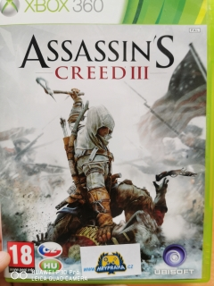 Hrypraha - Assassins Creed III xbox 360