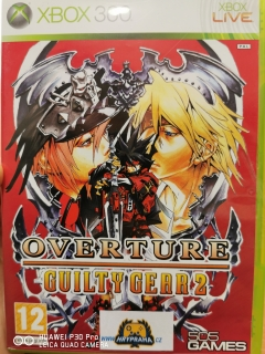 Hrypraha -  Xbox 360 - OVERTURE GUILTY GEAR 2