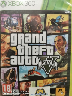 Hrypraha - Grand theft auto V - Xbox 360