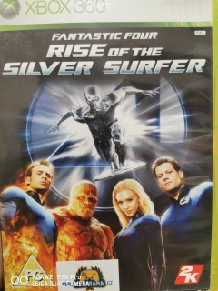 Hrypraha - Fantastic Four rise of the silver surfer - Xbox 360