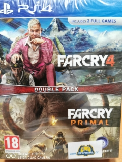 Hrypraha  - Far Cry 4 + Far Cry Primal Ps4