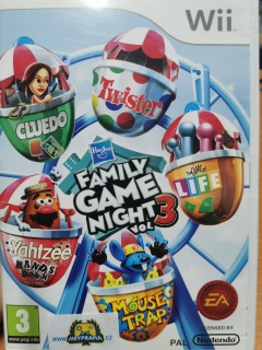 Hrypraha  - Hasbro Family Game Night vol 3 Nintendo wii