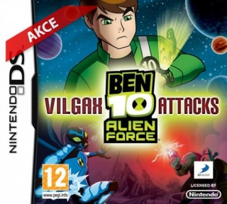 Hrypraha - Ben 10: Alien Force - Vilgax Attacks (Nintendo DS)