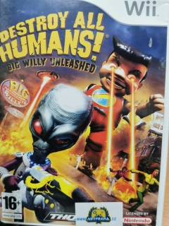 Destroy All humans Big Willy Unleashed - Nintendo wii