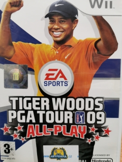 Tiger Woods PGA Tour 09 all play  - Nintendo wii