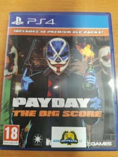 Payday 2 The Big Score (PS4