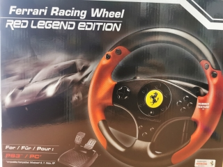 Thrustmaster Ferrari Red Legend Edition (PS3/PC)