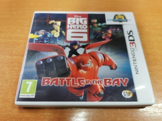 Big hero 6 battle in the Bay Nintendo 3DS