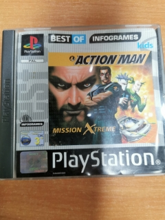 PS1 Action Man : Destruction X