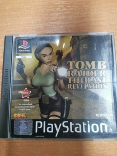 PS1 Tomb Raider The Last Revelation