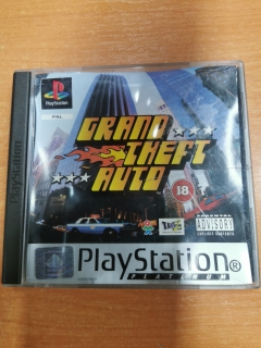 PS1 GTA : Grand Theft Auto