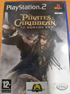 Disney pirates of the caribbean at worlds End Ps2