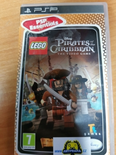 Lego pirates of the caribbean the video game  PSP
