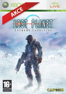 Lost Planet hra na Xbox 360